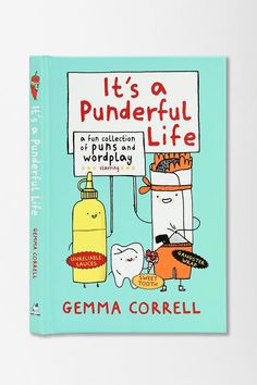 It's A Punderful Life by Gemma Correll #urbanoutfitters