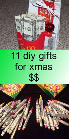 11 diy gifts for xmas $$ Christmas Ideas, Christmas Crafts, Xmas, Decor Ideas, Gift Ideas, Giving, Diy Tutorial, Diy Gifts, Cheer