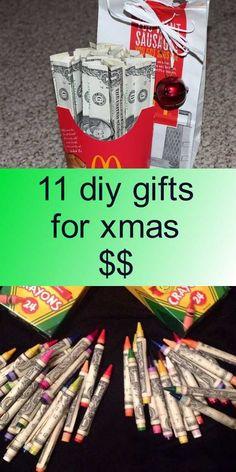 11 diy gifts for xmas $$ Christmas Ideas, Christmas Crafts, Xmas, Decor Ideas, Gift Ideas, Giving, Diy Tutorial, Diy Gifts, Cheer
