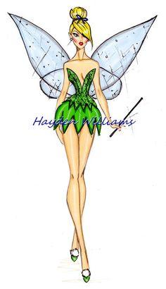 Disney fashion illustration
