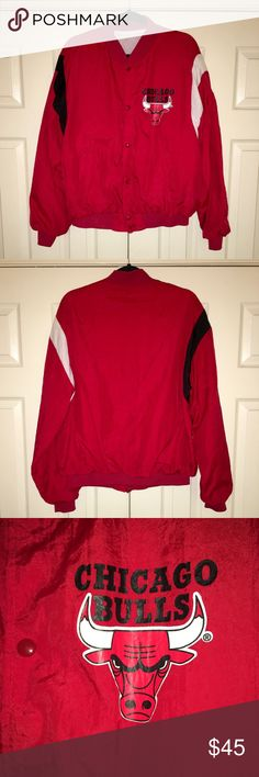 Vintage Chalkline Chicago Bulls Jacket Vintage Chalkline Chicago Bulls Jacket. Men's size Medium/Large. Product brand tag and size removed by previous owner. Chalkline Jackets & Coats Lightweight & Shirt Jackets