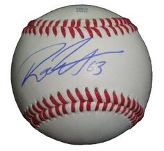 Rich Thompson Autographed ROLB Baseball, Oakland Athletics, Los Angeles Angels of Anaheim, Proof Photo by Southwestconnection-Memorabilia. $34.99. This is a Rich Thompson autographed Rawlings official league baseball. Rich signed the ball in blue ballpoint pen. Check out the photo of Rich signing for us. Proof photo is included for free with purchase. Please click on images to enlarge.