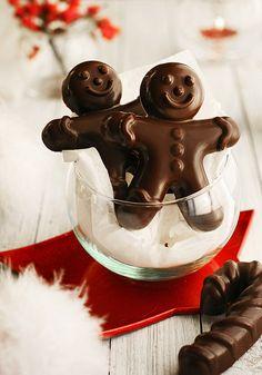 #ginger #chocolateman #chocolate #receipes #recetas #food #comida #christmas #dessert #sweet #chocolat #kitchen