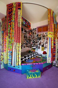 hippie bedroom decor 783626403882408121 - AM 52 Source by whenidecorate Hippie Bedroom Decor, Bohemian Style Bedrooms, Hippie House Decor, Hippie Bedrooms, Bohemian Curtains, Bohemian Homes, Boho Decor, Room Ideas Bedroom, 70s Bedroom