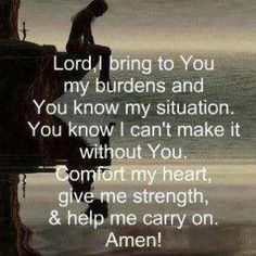 Lord, give me strength!