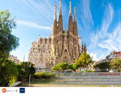 Barcelona, Spain! Discover the World with Global Beds! #onlinebookingsystem #FIT #discovertheworld #LaSagradaFamilia #Barcelona #Spain #Church #AntoniGaudi #interestingfacts #DorakHolding #GB #GlobalBeds