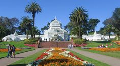 Stroll through this famous greenhouse and botanical garden that houses a collection of rare and exotic plants in Golden Gate Park. With construction having been completed in 1878, it is oldest building in the park.