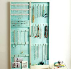 10 ideas to organize your jewelry