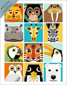 print & pattern: KIDS DESIGN - mibo books Source by smhandsbigart Lion Illustration, Animal Illustrations, Fantasy Illustration, Digital Illustration, Illustrations Posters, Motifs Textiles, Animal Graphic, Paper Animals, Arte Pop