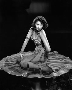 Ava Gardner. Photo by Clarence Sinclair Bull, 1947.