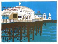 Palace Pier, Brighton by Geoffrey Elliott
