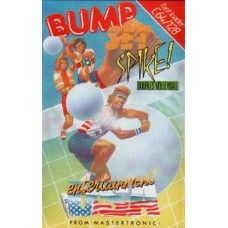 Bump Set Spike  for Commodore 64 from Entertainment USA/Mastertronic