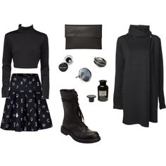 """Kawaii Noir"" by black-blessed on Polyvore"