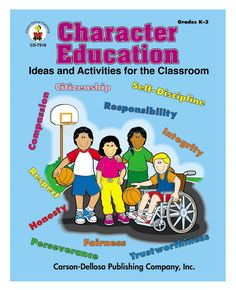 This encouraging character education resource book covers: citizenship, compassion, fairness, honesty, integrity, perseverance, responsibility, respect, self-discipline and trustworthiness. It includes curriculum-based activities, art projects, patterns, worksheets, and much more to help students develop a strong foundation for lifelong character.