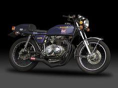 Yoshimura Japan Black Cyclone Exhaust System Honda CB400F 1974-78 CB400 Four 4   eBay