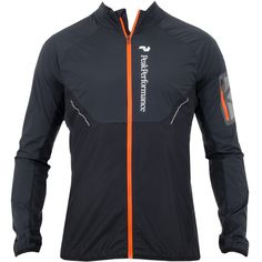 Peak Performance Focals Running Jacket Black Available at TrendySports