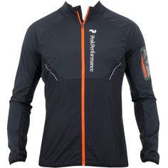 Peak Performance Focals Running Jacket Black Available at TrendySports