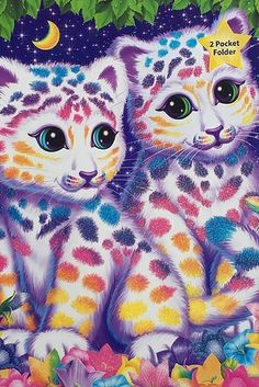A '90s Lisa Frank folder to hold all your 90-percentile grades. | 23 School Supplies That'll Make You Actually Want To Be In Class