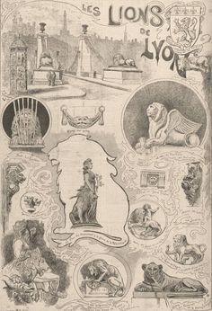 Beaucoup parlent encore des #lions de la #Biennale des années 2000 initiée par Mohamed Attia. Certaines de ces créatures, toujours visibles à travers la Ville de #Lyon, s'ajoutent aux autres représentations du roi des #animaux qui ornent nos monuments 🦁 Voici quelques #lions de #Lyon #numelyo #bestiaire Lyon, Statue, Vintage World Maps, Monuments, Voici, Art, Sculpture, Animaux, City
