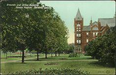 Mimico Asylum, Etobicoke (now Humber College), 1910...