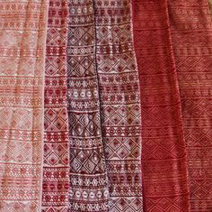 Red Indios: Ziegelrot, Old Red/White, Red Tri, Cranberry, Ruby-Apricot, Tulpe