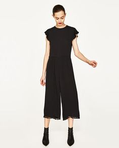CROPPED JUMPSUIT-NEW IN-WOMAN | ZARA United States