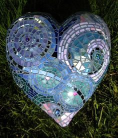 Mosaic Heart from Ruby's Tile & Mosaic Work