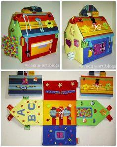 Wesens-Art: Spiel- und Lernhaus / Activity Play House
