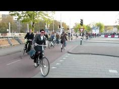 Bicycle Rush Hour Utrecht (Netherlands) III Morning rush hour in the 4th largest city in the Netherlands. Streets look like this when 33% of ALL trips are made by bicycle!