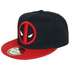 """Cappellino con visiera """"Logo"""" di #Deadpool."""