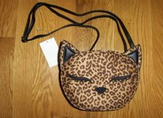 H&M Kitty Cat Crossbody Purse