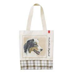 #Australian Shepherd Zazzle HEART Tote Bag - #australian #shepherd #puppy #shepherds #dog #dogs #pet #pets #cute #australianshepherd