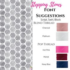 Looking for your personalization to blend into your product? Maybe you want it to pop. Check out these thread options to make sure your personalization is perfect. Thirty One Uses, Thirty One Gifts, 31 Organization, 31 Party, Thirty One Business, One Summer, Spring Summer, 31 Gifts, One Wish