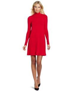 Bcbgmaxazria Women's Weiss Knit Sportswear Dress, Rio Red, Small