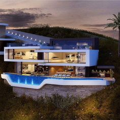 Amazing modern luxury and elegant home. For more ideas and inspirations visit: http://www.bocadolobo.com
