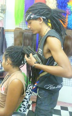 DREADLOCK HUMAN REAL HAIR EXTENSION