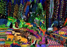 Jeroen Pomp, Dutch Outsider Artist with Learning Disabilities.