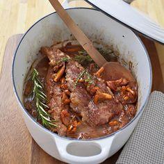 Recettes en famille | Régal Cocotte Staub, Japchae, Carne, Casserole, Meat, Ethnic Recipes, Kitchen, Food, Simple