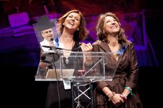Marley's Mission wins Best New Charity!  My sister April Loposky and Rebecca :D <3