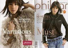 10 vestes Phildar