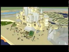 Sneak Peek Video of the Enchanted Storybook Castle at Shanghai Disney.  Awesome!!!