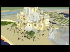 Sneak Peek Video of the Enchanted Storybook Castle at Shanghai Disney.  Awesome!!!