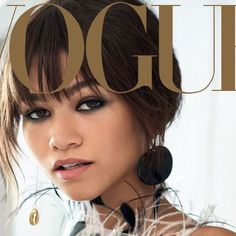 All ears: @zendaya wears the Flat Disc Earrings from the #DVFFall17 collection on the cover of @voguemagazine. #DVFGirl