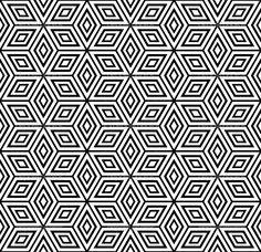 Seamless geometric pattern. - Stock Illustration: 5324096