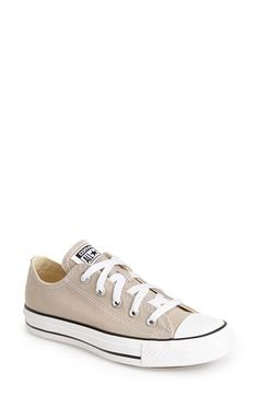 Free shipping and returns on Converse Chuck Taylor® All Star® 'Ox' Sneaker (Women) at Nordstrom.com. A classic canvas sneaker with a vulcanized sole and a rubber toe cap is updated in a seasonal hue to refresh your casual uniform while retaining the athletic DNA of the very first Converse All-Stars produced in 1917.