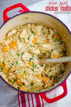 One Pot Chicken Risotto | 18 One-Pot Dinners You Can Make In A Dutch Oven