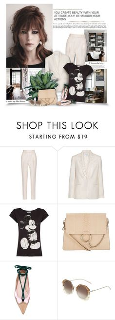 """Attitude,Behaviour,Actions"" by thewondersoffashion ❤ liked on Polyvore featuring PALLAS, MANGO, Chloé, Fendi, Kyme, Alexis Bittar, mango, fendi, chloe and haleybennett"