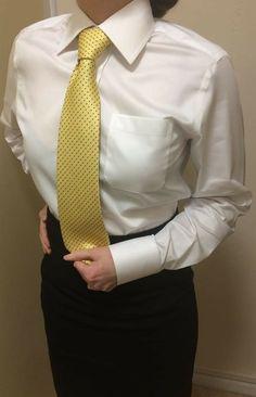 Women Ties, Suits For Women, Blouses For Women, Tomboy Fashion, Fashion Outfits, Womens Fashion, Women Wearing Ties, Beautiful Dresses For Women, College Uniform