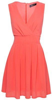 Jasmine Chiffon V-Neck Wrap Dress