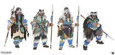 ArtStation - Horizon Zero Dawn: Tribes, luc de haan